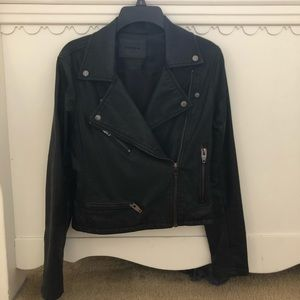 Leather Jacket (vegan)